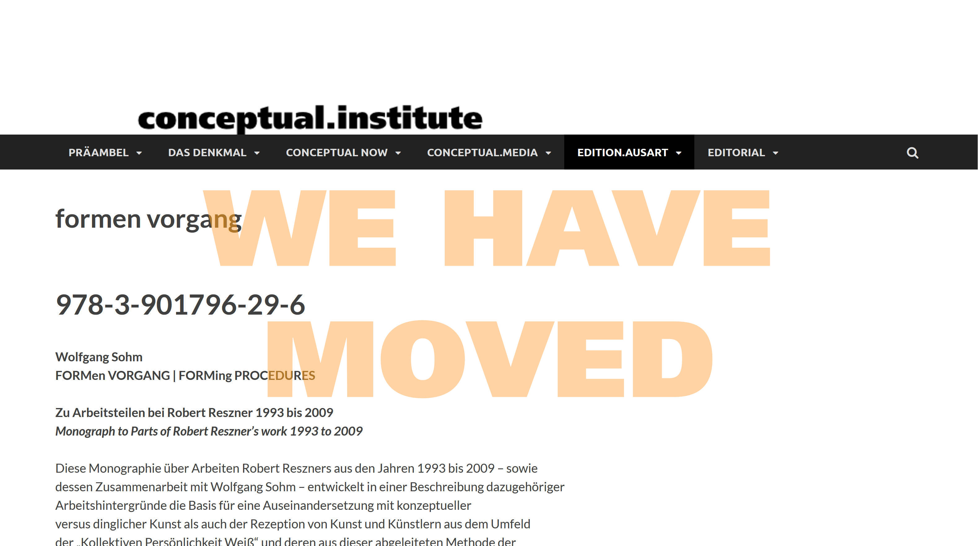We have moved to www.conceptual.institute